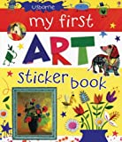 My First Art Sticker Book, Rosie Dickens, 0794532020