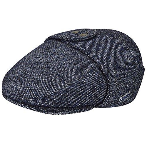 - Kangol Men's Tweed Bugatti, Denim Marl, Medium