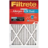 Filtrete MPR 1000D 20 x 25 x 1 Micro Allergen PLUS DUST HVAC Air Filter, Delivers Cleaner Air Throughout Your Home, 2-Pack