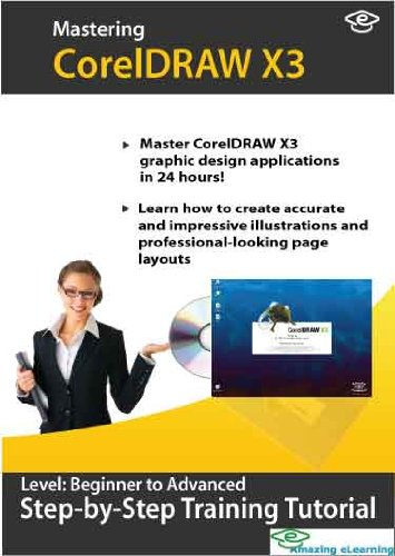 CorelDRAW X3 Training Course Level 1 and 2 by Amazing eLearning