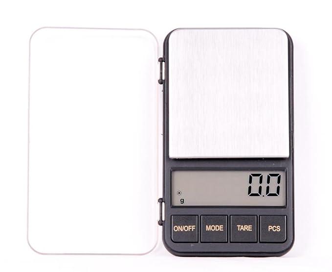 Quantum Abacus balanza digital de precisión profesional/pesacartas/microbalanza/pesillo/balanza de bolsillo 500g/0.1g, Mod. KL-928 500g/0.1 DE: Amazon.es