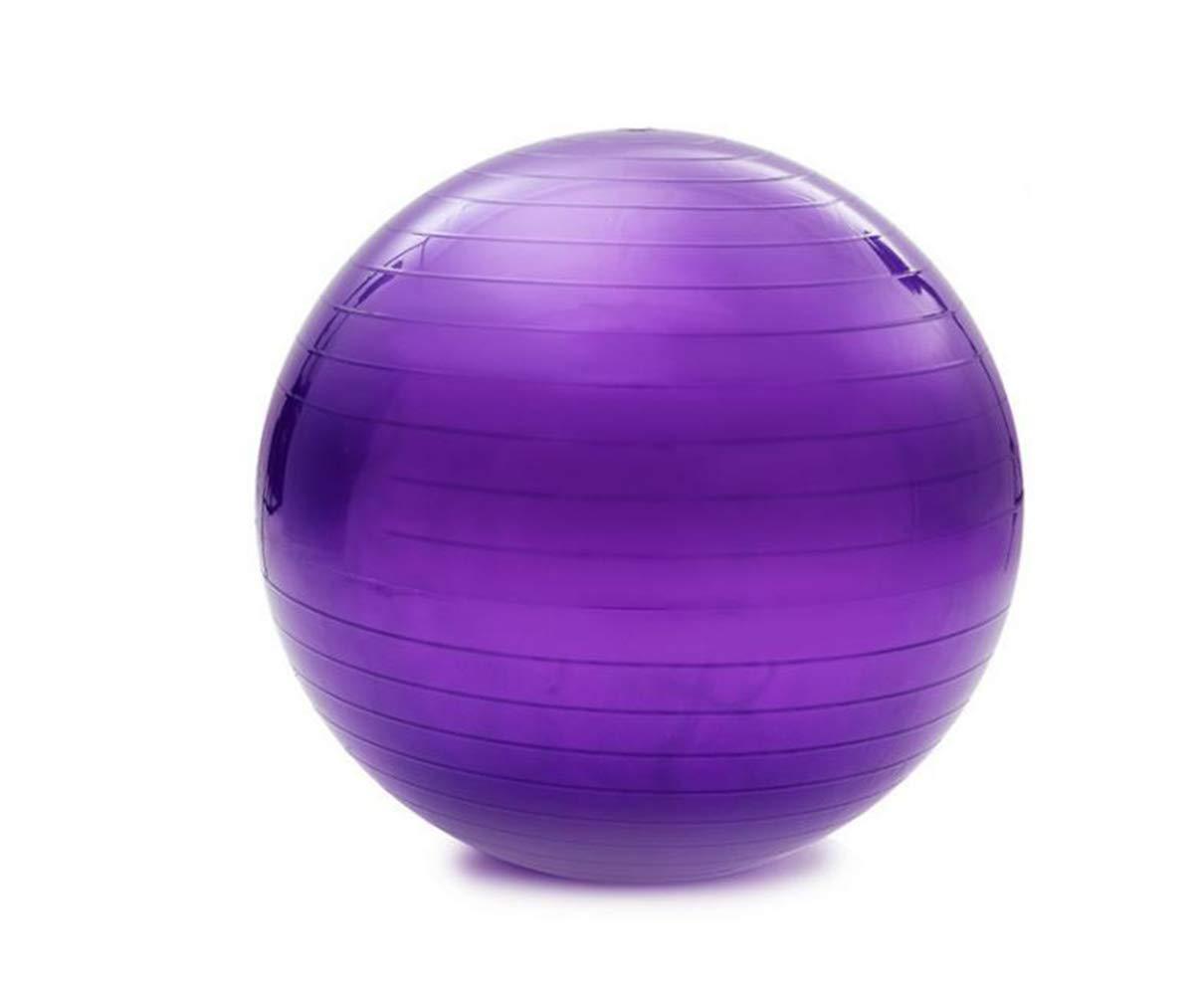 ZSJZHB Yoga Ball, Explosion-Proof Yoga Ball, Inflatable Yoga Ball, PVC Yoga Ball Yoga Ball, Sports Yoga Ball, Non-Slip Yoga Balance Stability, Swiss Ball Fitness Training Core Strength
