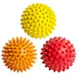 FitNext Spiky Massage Balls Feet, Back, Neck, Hands - 3 Spiked Body...