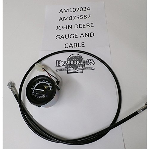 John Deere Tachometer and Cable AM102034, AM875587 655 755