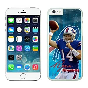 NFL Buffalo Bills Ryan Fitzpatrick Case Cover For SamSung Galaxy S4 White NFL Case Cover For SamSung Galaxy S4 13214