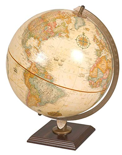 Replogle Antique Ocean Desk Globe 12 Inch
