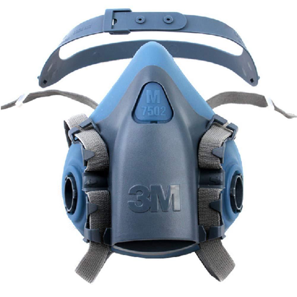 Medium Half Facepiece Reusable Respirator 7502/37082(AAD) Respiratory Protection (1 Pack)