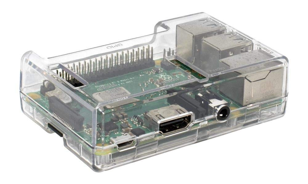 SB Components Raspberry Pi 3 Model B+ Transparent Case - Access to all ports by sb components (Image #3)