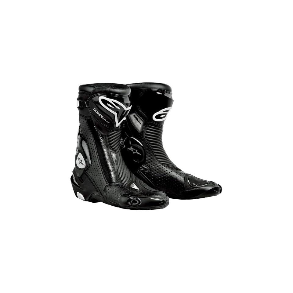Alpinestars S MX Plus Gore Tex Vented Mens Waterproof Sports Bike Motorcycle Boots   Black / Size 47