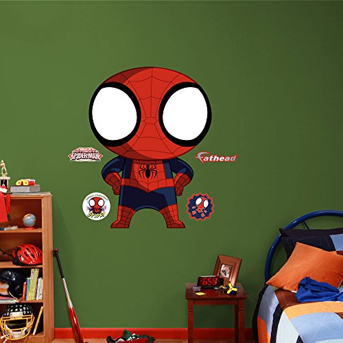 Fathead Black Suit Ultimate Spider-Man Real Big Wall Decal