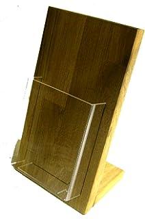Linlay Intarsien Gravuren Din A4 Flyerhalter Holz
