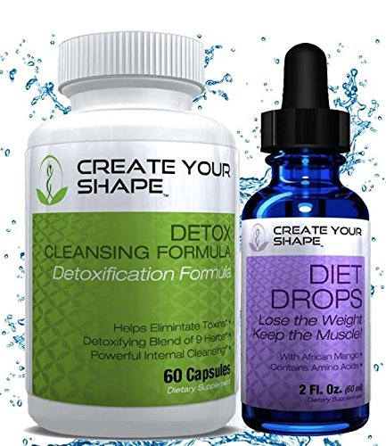 Create Your Shape Detox Cleanse Weight Loss & Diet Drops - B