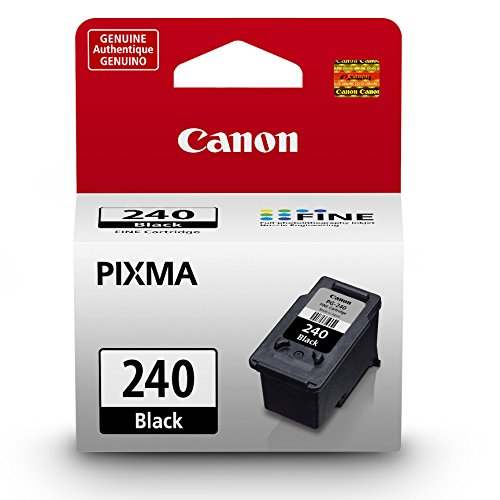 Canon PG-240 Black Ink Cartridge, Compatible to MG3620,MG3520,MG4220,MG3220 and - Inkjet Printer Compatible Black Ink