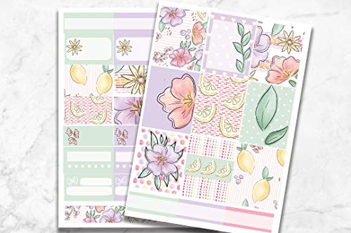 (Life Planner Sticker Kit 'Sorbet' - Mini Kit on premium matte)