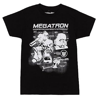 Transformers Megatron Schematics T-Shirt