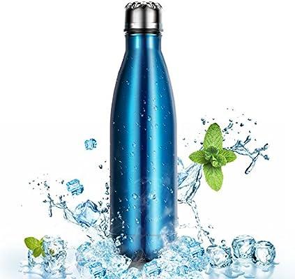 500ml Botella de Agua de Acero Inoxidable para Mantener sus ...