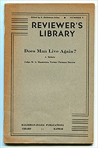 Reviewer S Library Number 5 Does Man Live Again A Debate Judge