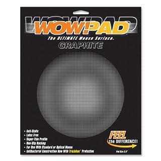"""WOW!PAD 8DG55 8.5"""" Diameter Graphite Tech Mouse Pad"""
