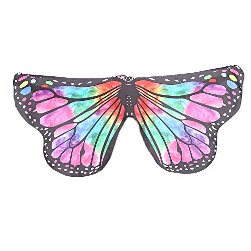 Butterfly Wings Shawl Scarves Ladies Nymph Pixie Poncho