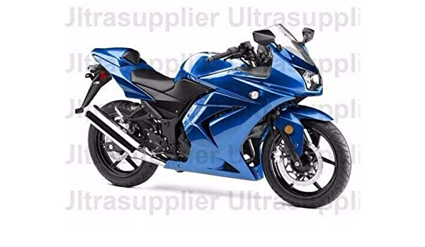 Amazon.com: Blue ABS Motorcycle Complete Injection Fairing ...