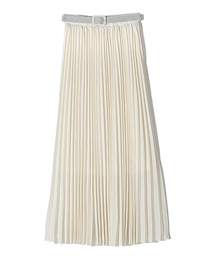 Faldas Damas Casual Moda De Verano Falda Elástica Cintura Mode De ...