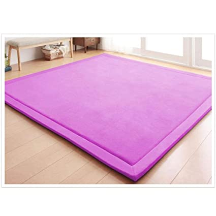 Amazon.com: Area Rugs Mat Coral Velvet Play Crawling Mat for ...