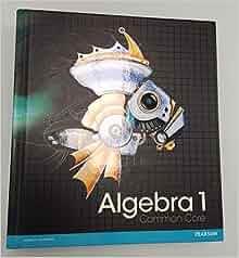 pearson algebra 1 textbook pdf