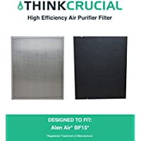 Replacement for Alen Air BF15 Air Purifier Filter Fits A350 Air Purifier, by Think Crucial