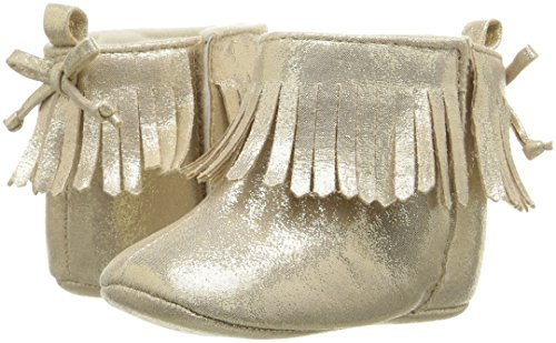 Pictures of ABG Baby Girls' Fringe Boot W/Bow GNB55395AZ2 Gold 4