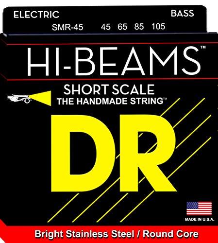 UPC 678358930210, DR Strings SMR-45 Medium Hi-Beam Stainless Steel Bass Guitar Strings