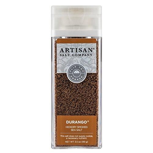 - Durango Hickory Smoked Sea Salt, Shaker, 3.5oz
