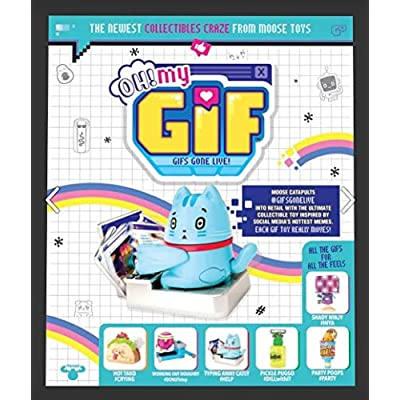 OH! MY GIF Animated Figurine 2-Pack Gift Set - Simple Joy Toys: Toys & Games