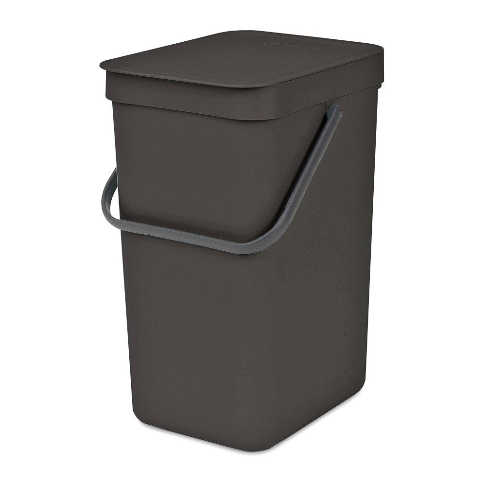 Brabantia Sort & Go Waste Bin, 6L/1.6 Gal, 6 L, Mint 109645
