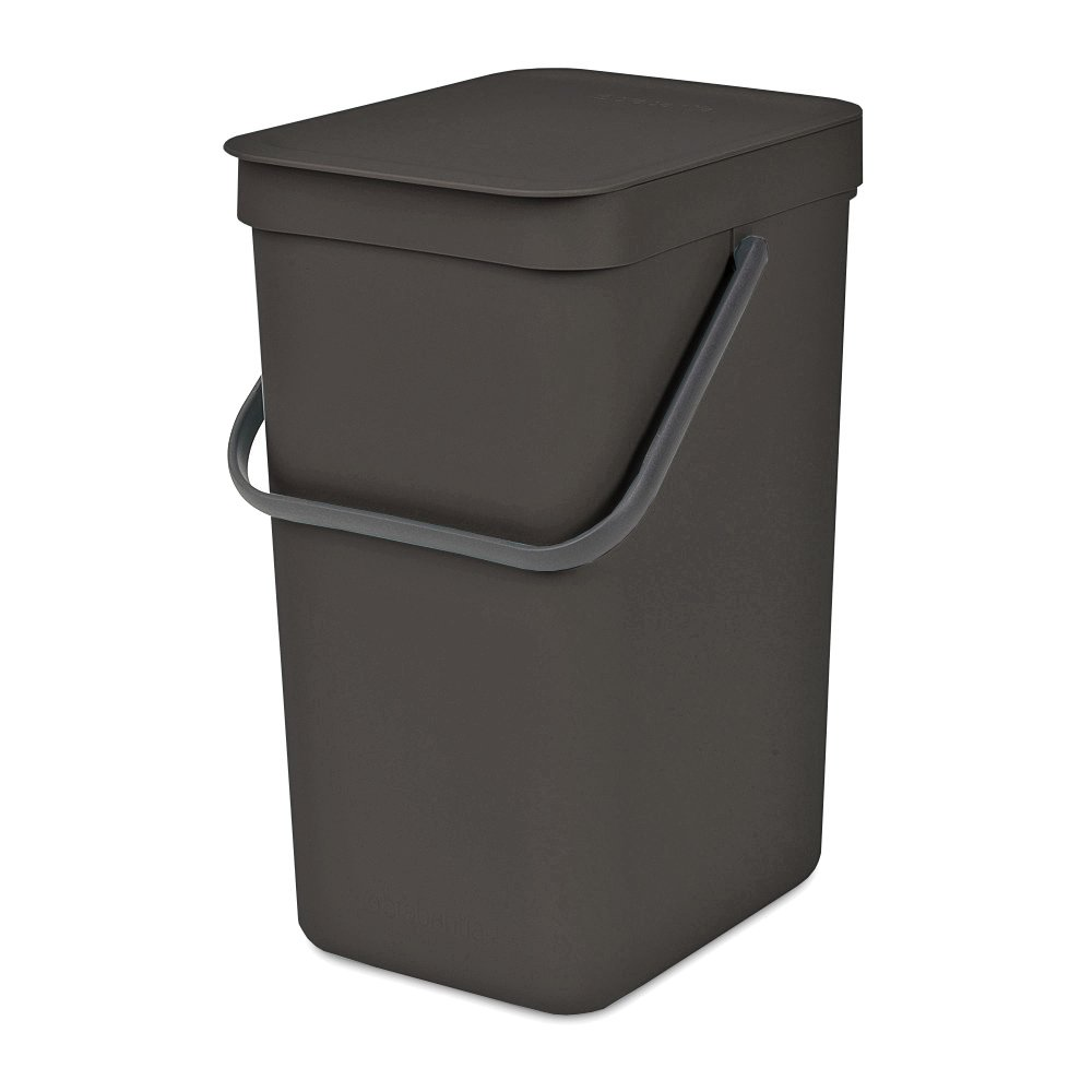 Brabantia 109966 Waste Bin, 16 L, Gray