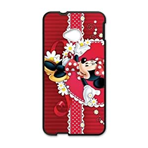 HTC One M7 Phone case Black Minnie Mouse QQA8794868