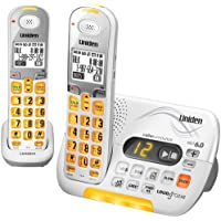 Uniden DECT 6.0 Cordless Phone with Caller ID Answering System and 1 Additional DCX 309 Handset - White (D3097-2)