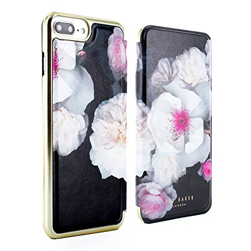 pretty nice 98c77 26624 Ted Baker AW17 Luxury Flip-Back Magnetic Folio Cover for Apple iPhone 8  Plus/7 Plus - Chelsea Black