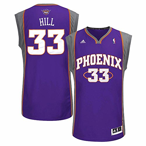 Grant Hill Phoenix Suns NBA Adidas Men's Purple Replica Jersey (XL)