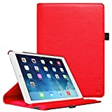 Fintie iPad Mini 1/2/3 Case - Multiple Angles Stand Case with Smart Cover Auto Sleep/Wake Feature for Apple iPad Mini 1 / iPad Mini 2 / iPad Mini 3, Red