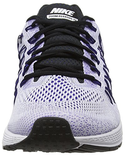 Nike Air Zoom Pegasus 32 - Zapatillas de running Hombre Blanco (Blanco (White/Concord-Black))