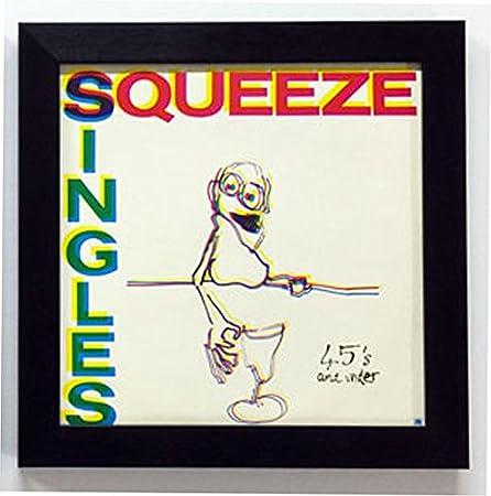 12 inch record album frame (black) - single frame: Amazon.co.uk ...