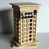 Echaprey Wooden Essential Oil Box Display Rack 8