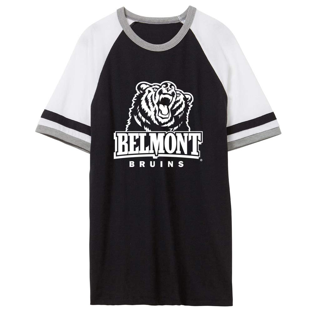 Official NCAA Belmont University Bruins PPBEL04 Unisex Slapshot Vintage Jersey T-Shirt