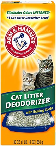 Arm & Hammer Cat Litter Deodorizer, 30 Oz (Pet Stain And Odor Remover Arm And Hammer)