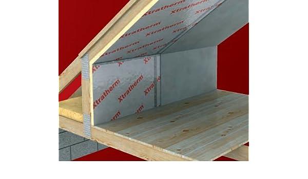 2400 x 1200 x 25 mm Xtratherm Celotex alto rendimiento PIR aislamiento de espuma rígida Junta techo o suelo Precio por hoja * * pedido mínimo 4 hojas ...