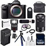 Sony Alpha a7S II a7S Mark II a7SII ILCE7SM2/B Mirrorless Digital Camera (International Model no Warranty) + Sony E 55-210mm f/4.5-6.3 OSS E-Mount Lens (Black) + 49mm Filter Kit 6AVE Bundle 119