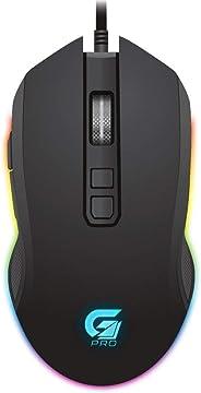 Mouse Gamer PRO M3 RGB Preto FORTREK, Fortrek, Mouses