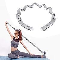 Dehub Stretchband, met 11 lussen, gemakkelijk te dragen en zeer elastische weerstandsbanden, geschikt voor yoga, fysieke…