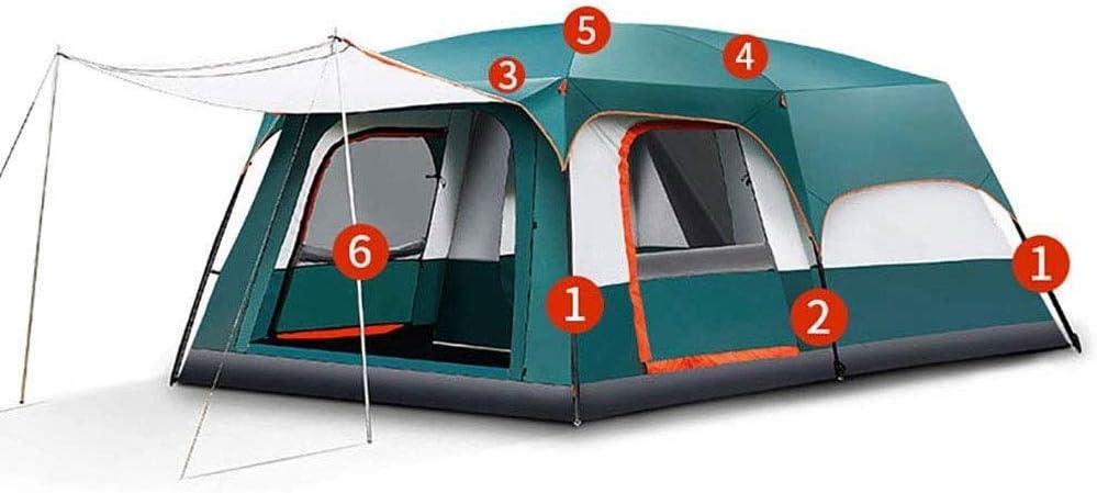 Tienda de camping portátil, 8 personas Tienda de campaña a ...