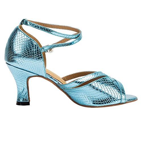 36 Salon 5 MiyooparkUK 7cm Blue Femme HW180501 de Miyoopark Danse Bleu Heel Sv4pT